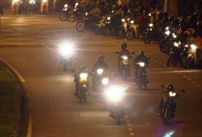 15 motosikal mat rempit disita