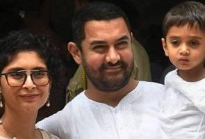 Berbeza agama, Aamir Khan sambut hari raya tanpa isteri