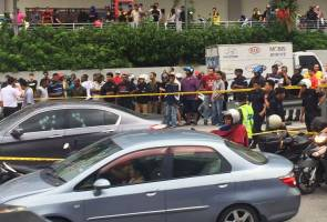Insiden tembakan di jalan raya cetus gempar di Setapak