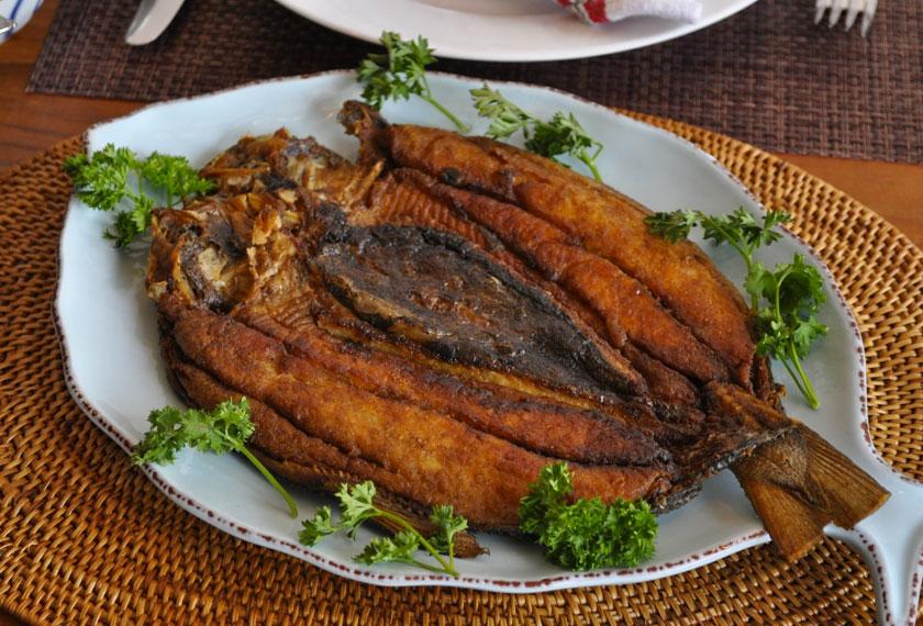 Banyak cara untuk memasak Ikan Terubuk.