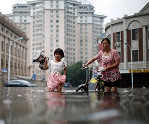 China dilanda bencana banjir