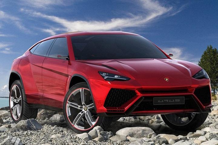 Lamborghini's concept SUV - the 'Urus'