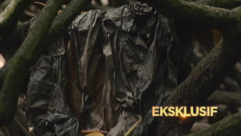 Sampah-sarap dari pusat longgokkan sampah itu juga hanyut masuk ke Sungai Kilim - Foto Astro AWANI