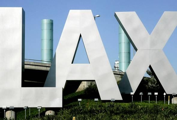 Lapangan Terbang Los Angeles dikosongkan susulan laporan insiden tembakan