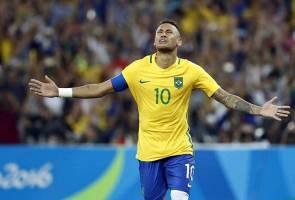 Jaringan Neymar mengesahkan emas Olimpik bola sepak pertama Brazil