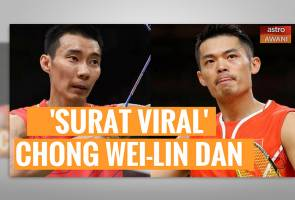 [VIDEO] 'Surat Viral' Lee Chong Wei dan Lin Dan