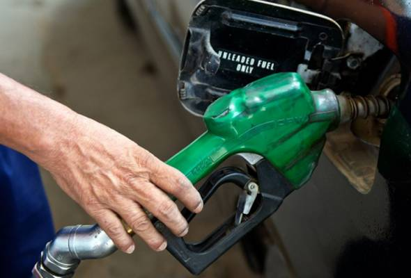 Harga petrol, diesel naik 15 sen