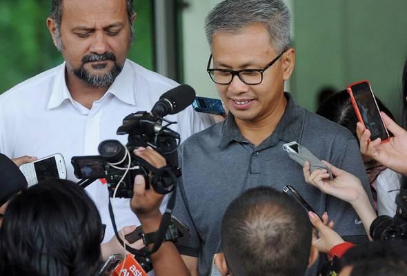 1MDB: Tony Pua beri keterangan pada SKMM