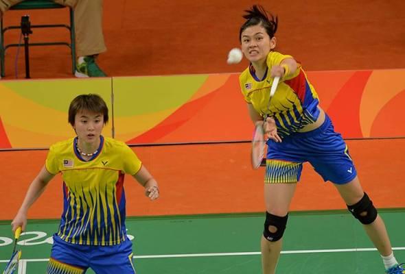 Hanya gandingan Vivian-Khe Wei teruskan cabaran di Terbuka Switzerland