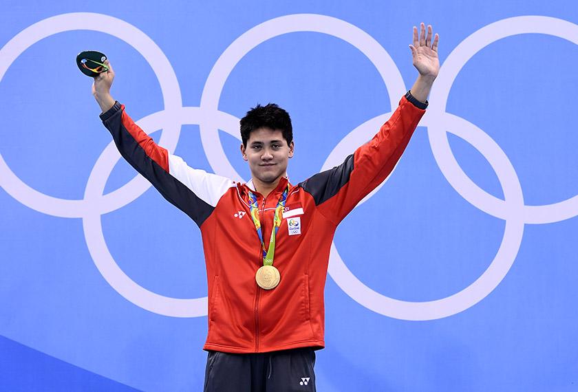 Susulan kemenangan di Rio, nama Joseph Schooling terus trending di media sosial dengan ucapan tahniah.