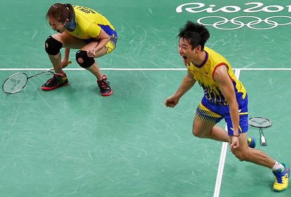Rio 2016: Peng Soon-Liu Ying selangkah lakar sejarah
