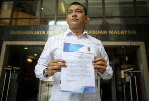 MyWatch buat laporan SPRM terhadap Ketua Polis Negara