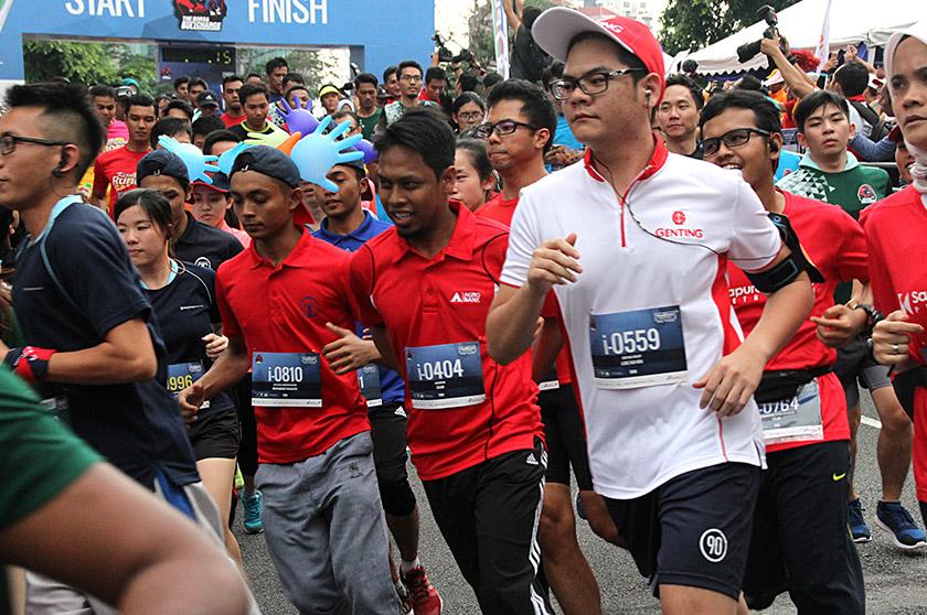Jumlah bilangan peserta tahun ini juga meningkat kepada 2,022 berbanding  1,800 peserta tahun lepas. - Foto Astro AWANI/SHAMIM HASNI
