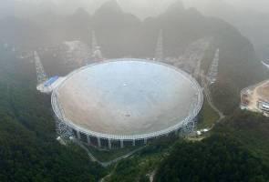 Teleskop Radio Terbesar di Dunia Mula Beroperasi di China