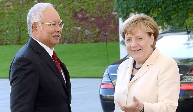 Chancellor Merkel commends Malaysia's success