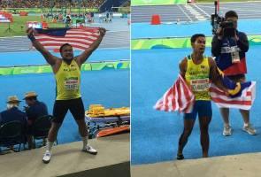 Paralimpik Rio 2016: Terima kasih Ridzuan dan Ziyad, kami bangga dengan kejayaanmu!