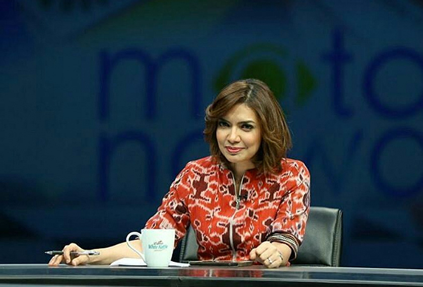 Najwa Shihab, 39, manages, produces and anchors her own weekly program, Mata Najwa, an influential talk-show that takes a smart look at politics and current issues of the week with interviews with newsmakers. Instagram photo