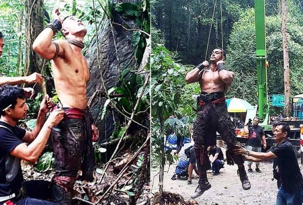 Penggambaran Tombiruo menguji fizikal, Zul Ariffin tetap bersemangat