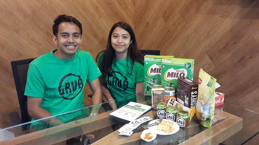 Pengasas Bersama Grub Cycle, Redza Shahid dan Hawanisa Roslan memulakan perusahaan sosial, Grub Cycle awal tahun ini bagi mengurangkan pembaziran makanan. - Foto Astro AWANI