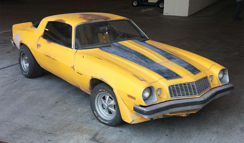 """The Chevrolet Camaro from """"Transformers"""""""