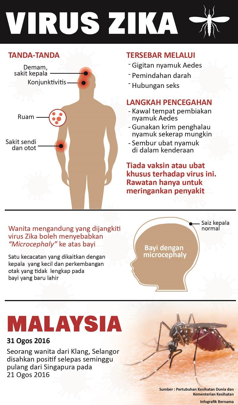 Zika masuk Malaysia