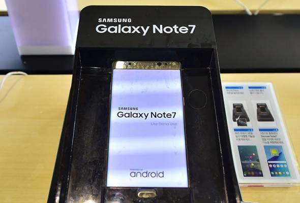 Samsung lancar semula Galaxy Note 7
