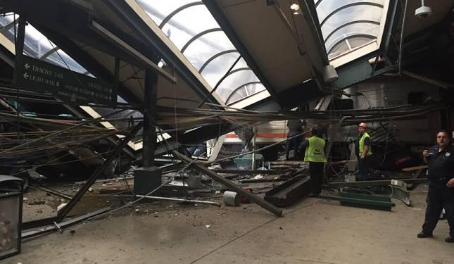 Tren komuter rempuh stesen New Jersey: Tiga penumpang maut, ratusan tercedera