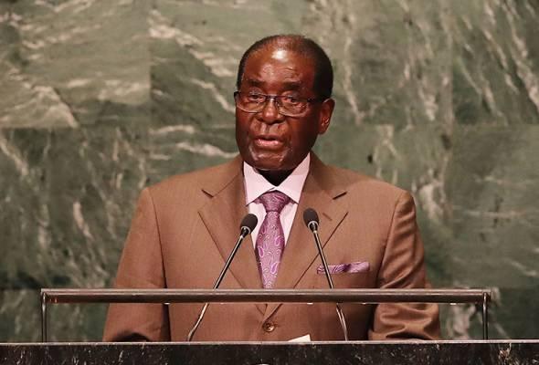 Mugabe letak jawatan
