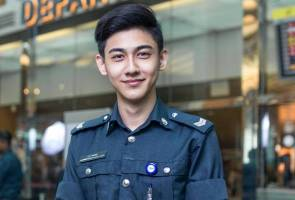 Changi Airport finally reveals identity of 'handsome' auxiliary cop