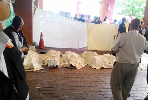 ICU terbakar: Bedah siasat selesai, kesemua mayat dituntut ahli keluarga