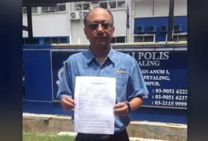 Nuj Buat Laporan Polis Wartawan Dikasari Astro Awani