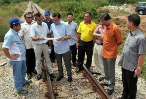 Construction of Gemas-JB double track project to start next month