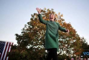 FBI rumuskan Hillary Clinton tidak lakukan jenayah