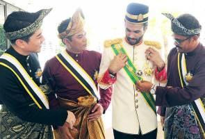 Designers Bernard Chandran, Rizalman conferred Datukship