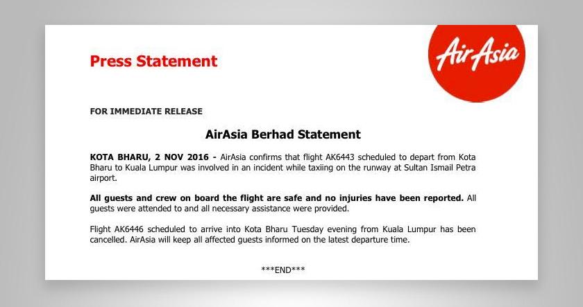 Kenyataan AirAsia