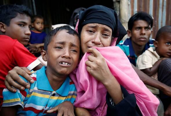 Tentera Myanmar suruh penduduk Rohingya TUKAR AGAMA kalau nak selamat !!