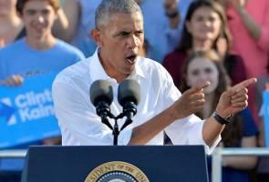 Obama bidas FBI berhubung siasatan emel  Hillary Clinton