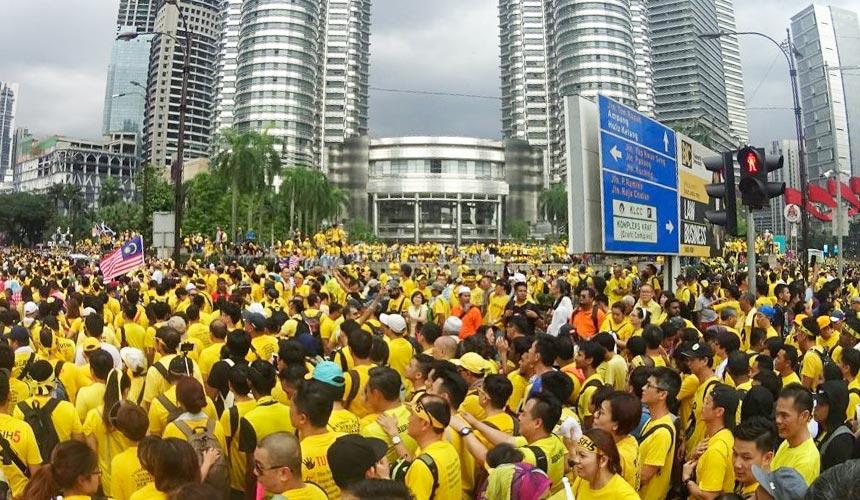 LAPOR LANGSUNG: Bersih 5 di Kuala Lumpur