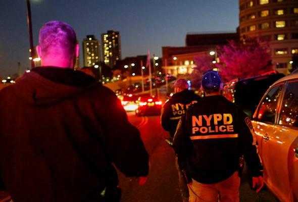 Polis New York maut ditembak