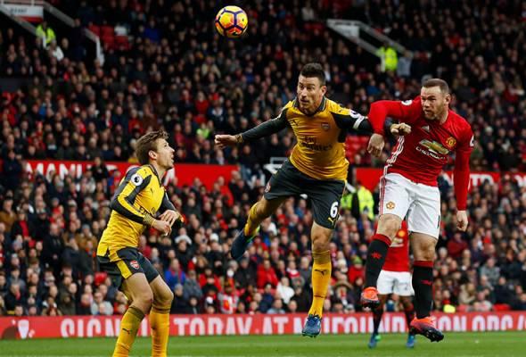 Manchester United, Arsenal sekadar seri