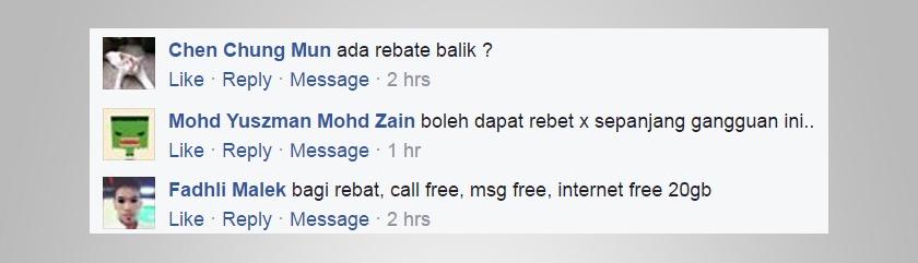 Antara 'wish list' pengguna yang diperolehi melalui Facebook Astro AWANI.