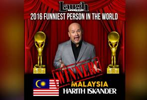 Harith Iskander is funniest person in the world