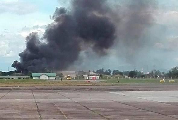 Pesawat terhempas di Butterworth, juruterbang TUDM maut dan tiga parah