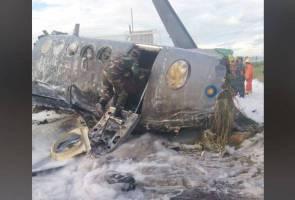 RMAF pilot dies, three injured in turboprop plane crash near Butterworth airbase