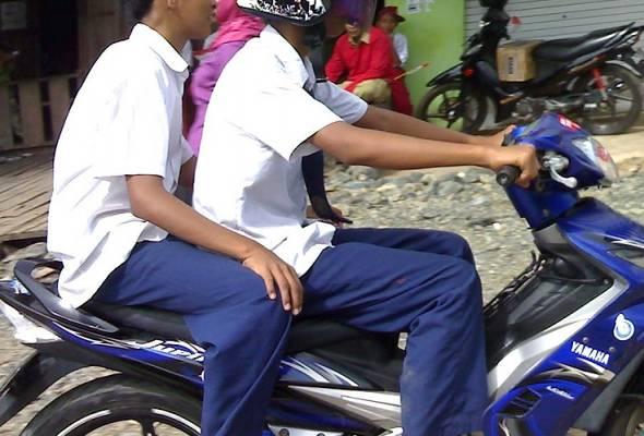 Ramai ibu bapa tidak kisah anak naik motosikal tanpa lesen - JKJR