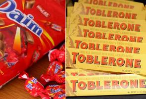 Ingredients in Daim, Toblerone chocolates safe for consumption by Muslims