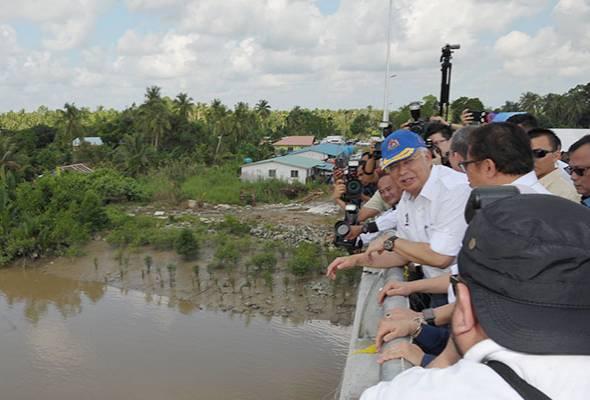PM Najib rasmi Jambatan Batang Sadong