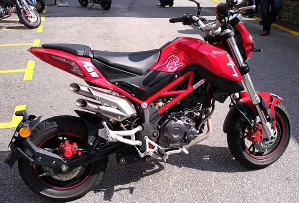 Syarikat itu mensasarkan untuk mengeluarkan sekurang-kurangnya tiga model baharu motosikal melebihi 200cc tahun depan, termasuk T302R.