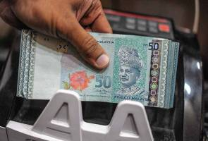 Ringgit declines further against US dollar