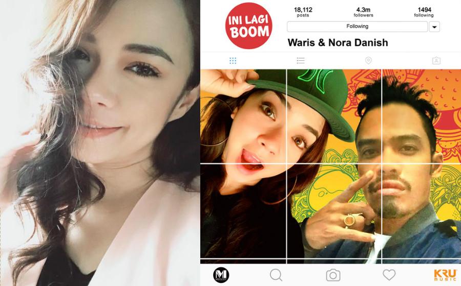 Puas berlakon, Nora Danish jadi penyanyi, rakam single bersama W.A.R.I.S